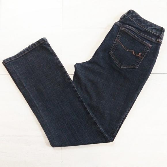 St. John's Bay Denim - St. John's Bay Blue Straight Leg Jeans